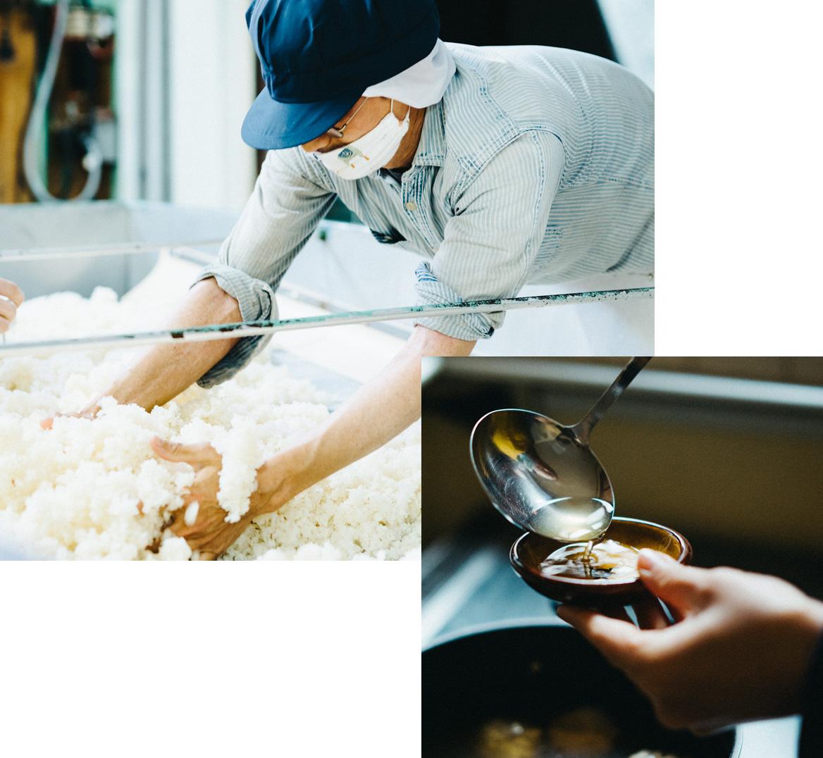 純米酒と同じ製法