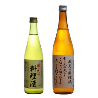 蔵元の料理酒(海塩入り)