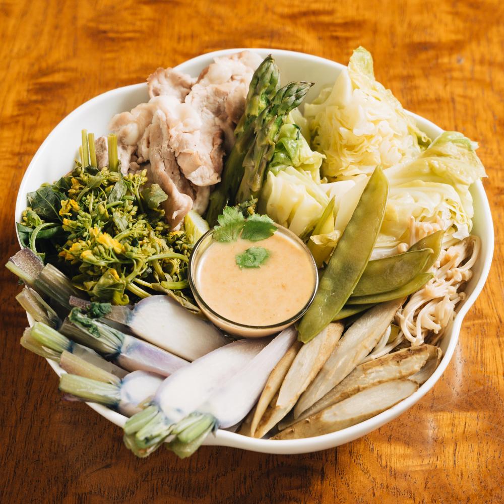 料理酒の野菜蒸し